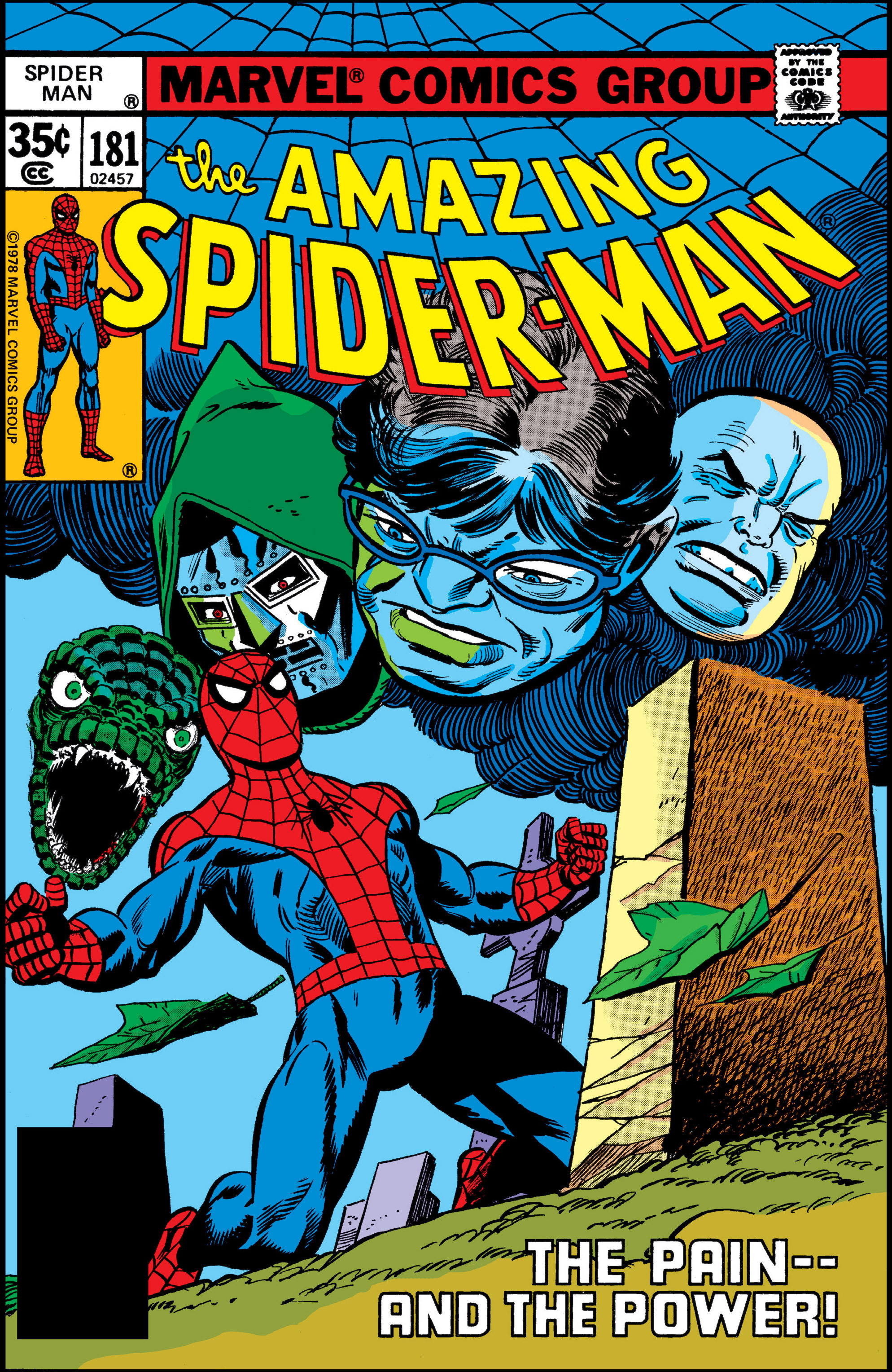 The Amazing Spider-Man (1963) 181 Page 0