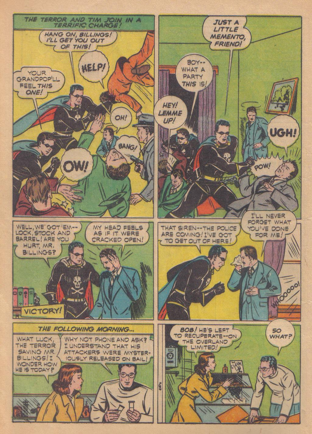 Exciting Comics (1940) issue 13 - Page 14