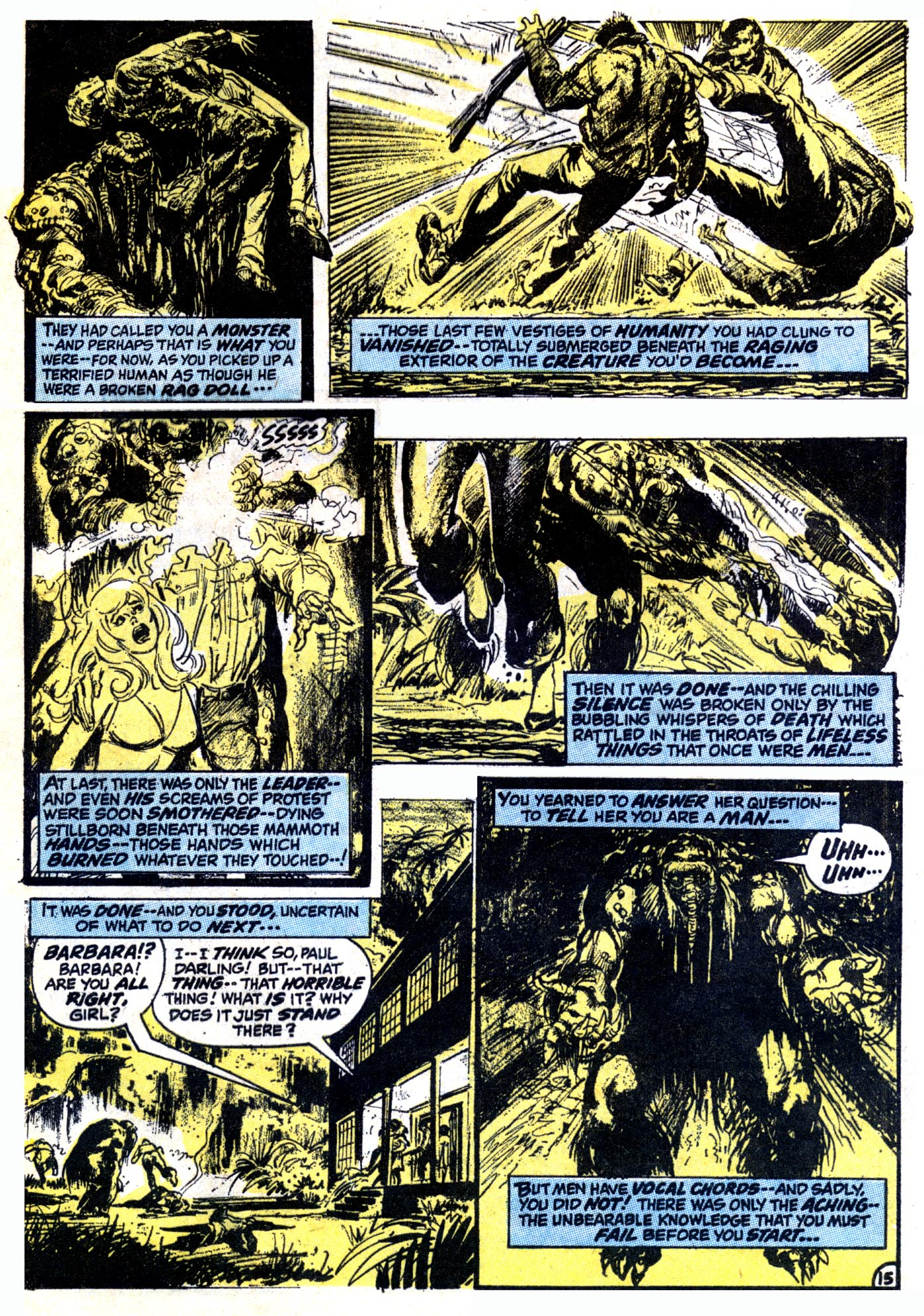 Read online Astonishing Tales (1970) comic -  Issue #12 - 16