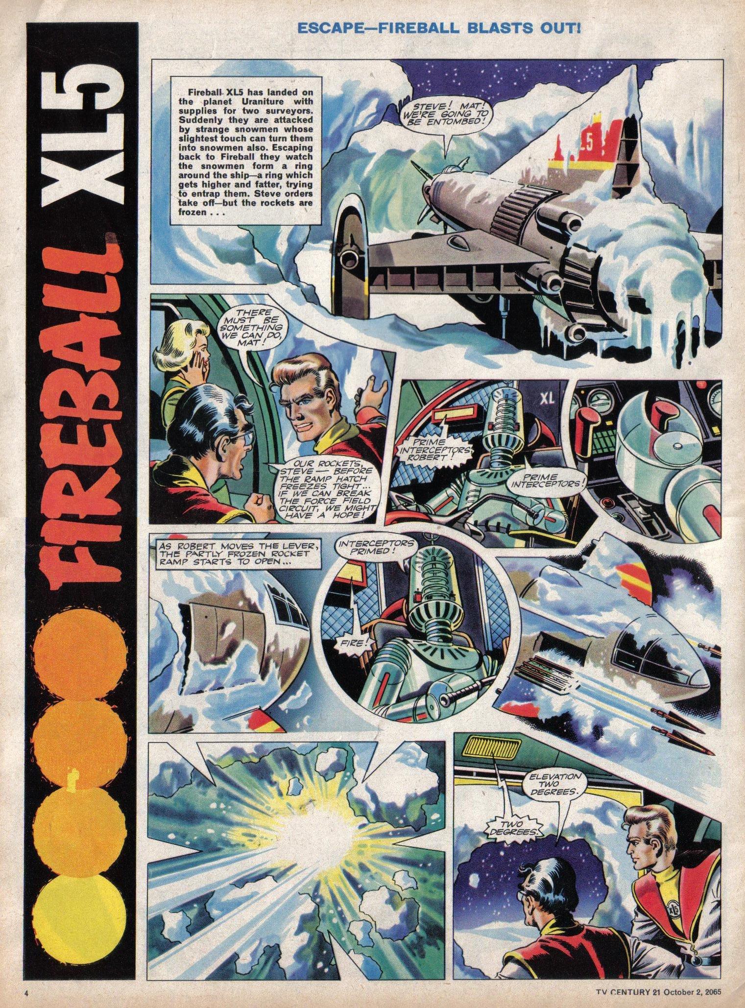 Read online TV Century 21 (TV 21) comic -  Issue #37 - 4