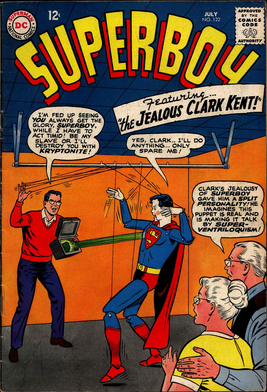 Superboy (1949) issue 122 - Page 1