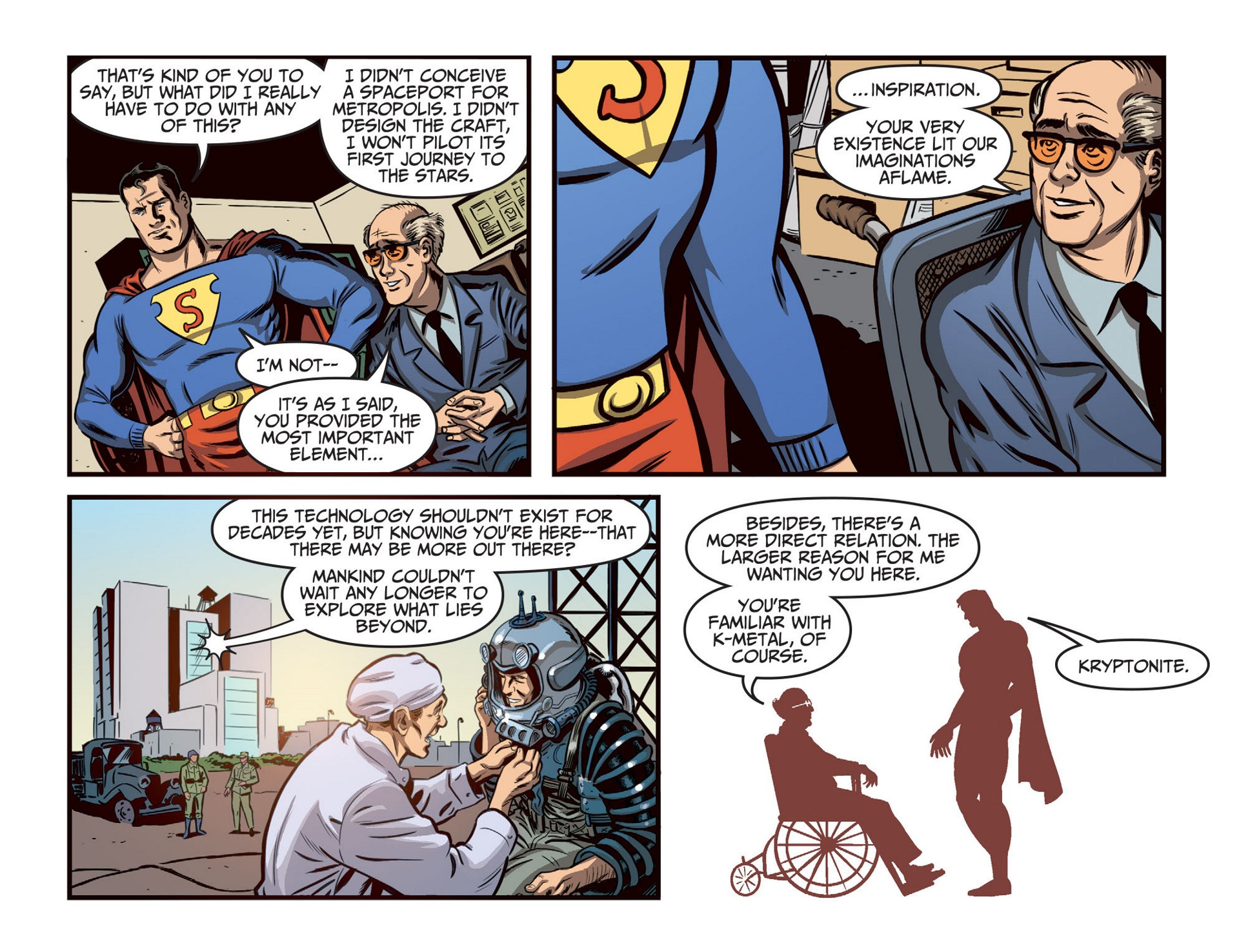 Read online Adventures of Superman [I] comic -  Issue #46 - 10