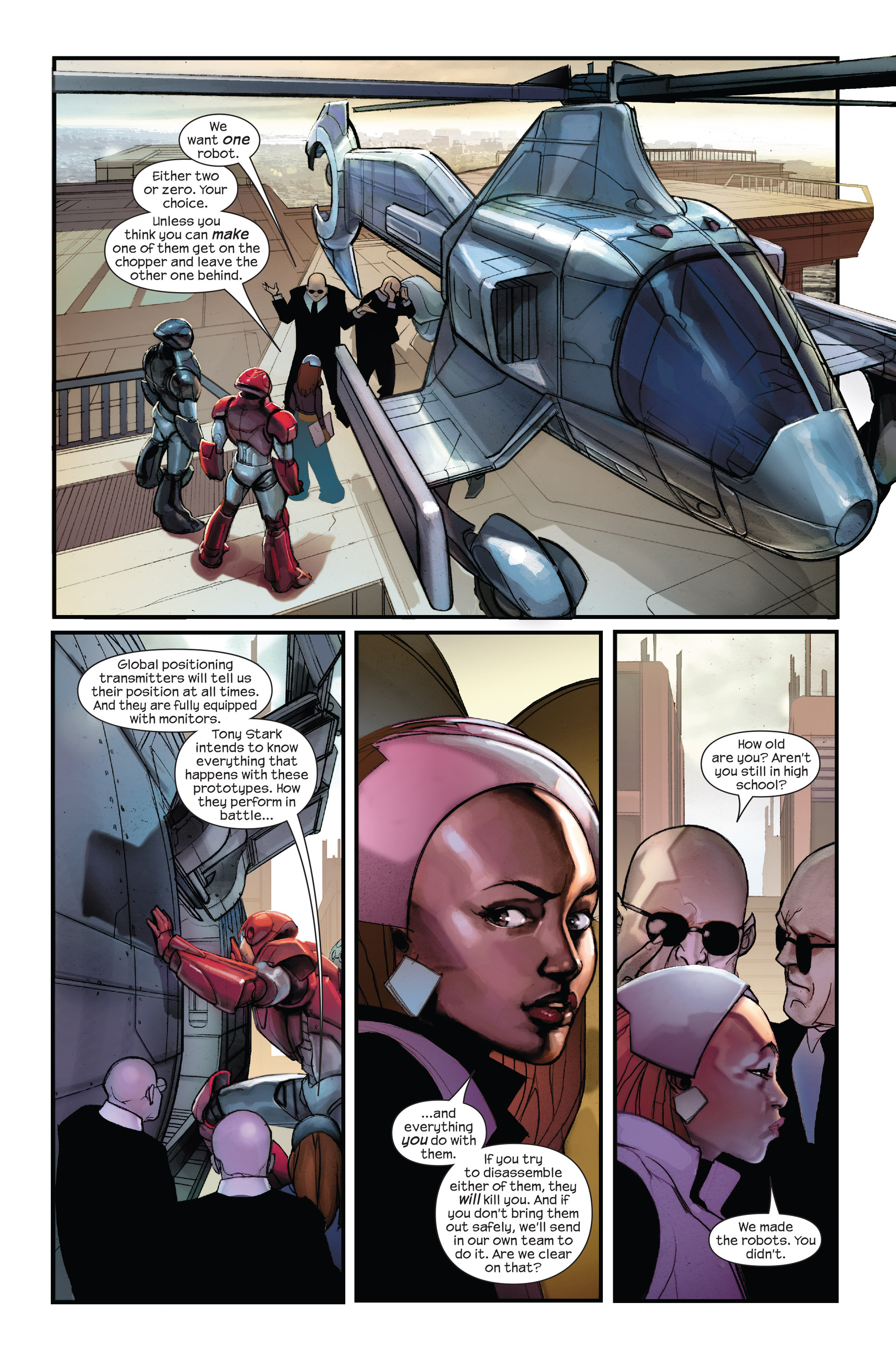 Read online Ultimate Iron Man II comic -  Issue #1 - 16