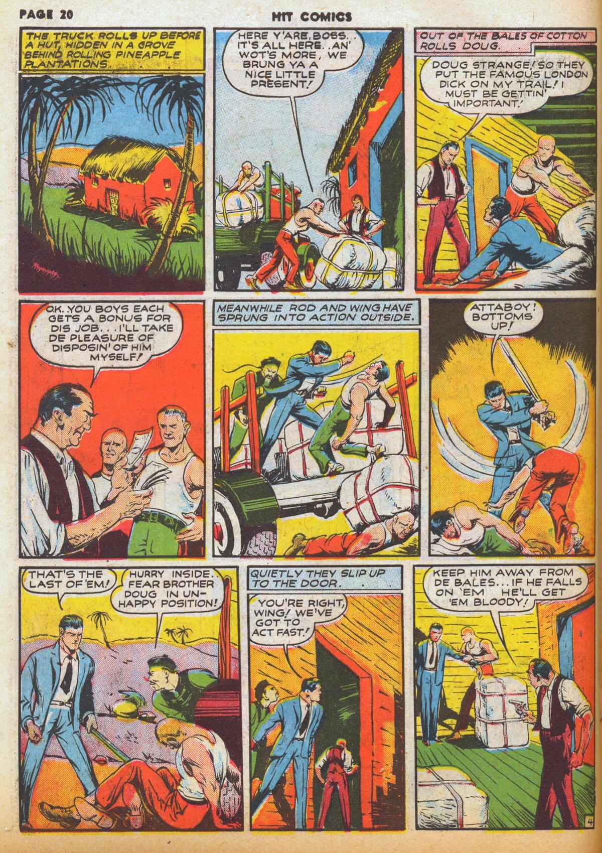 Read online Hit Comics comic -  Issue #12 - 22