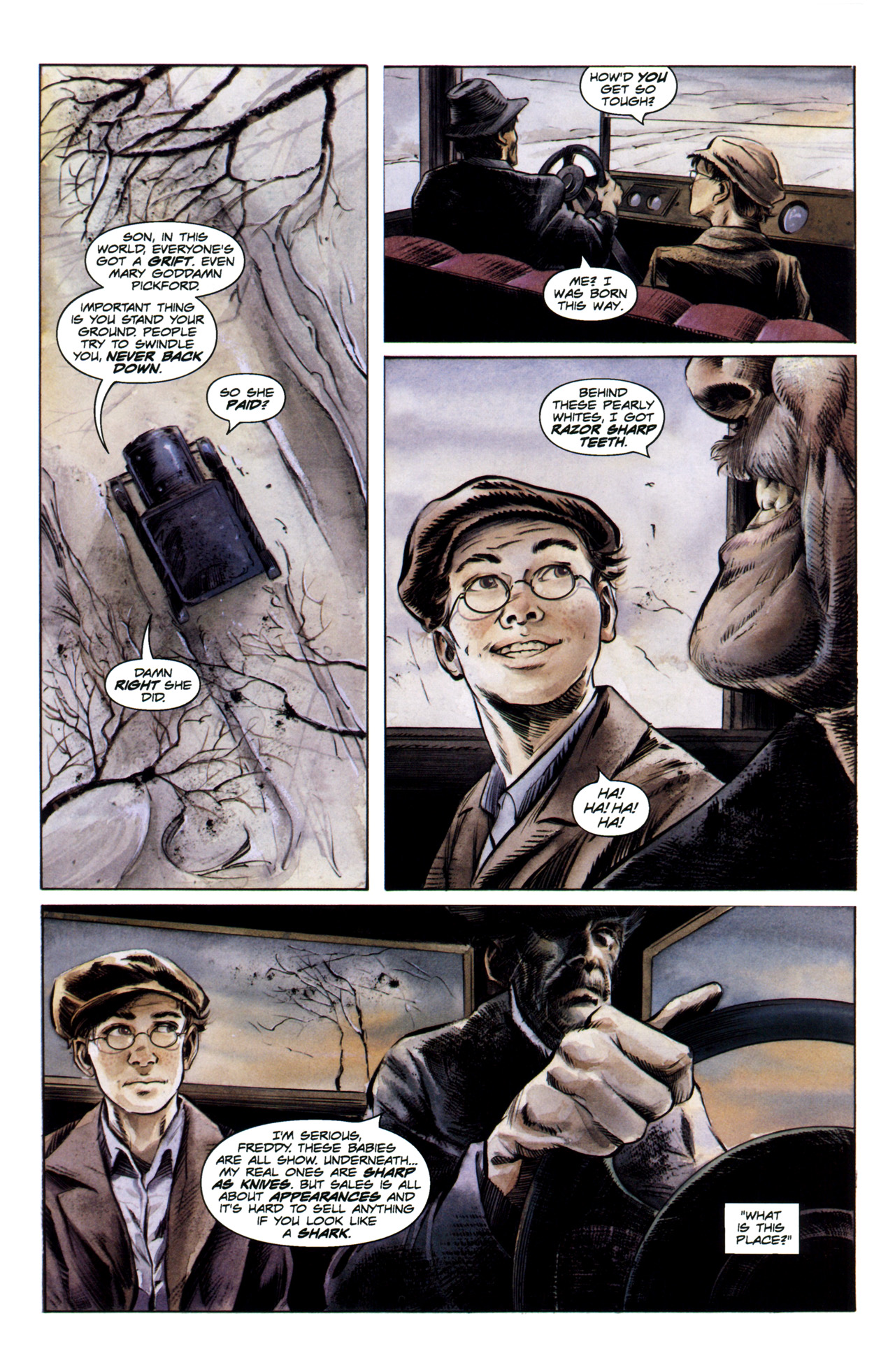 Read online Severed comic -  Issue #1 - 14
