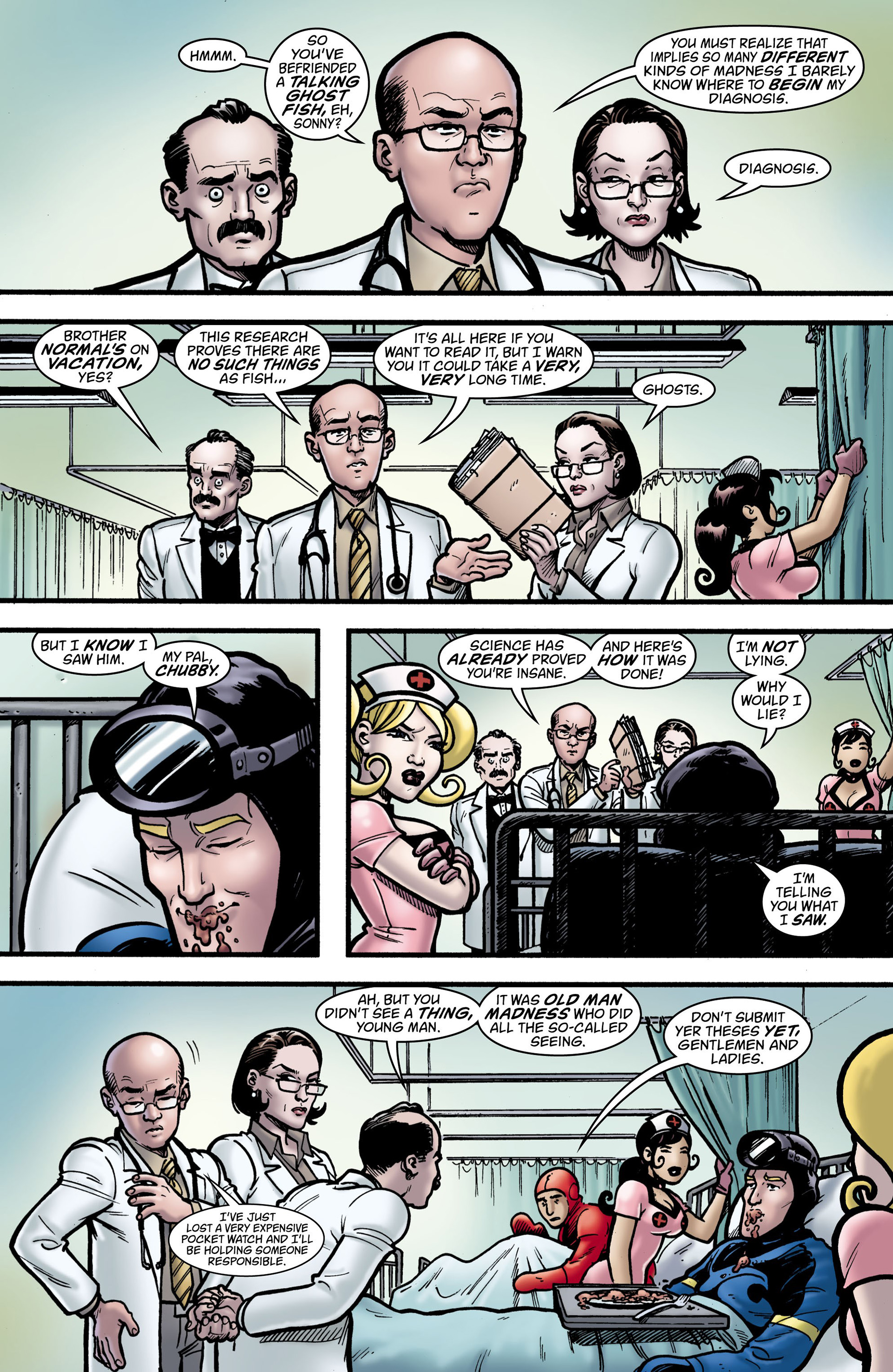 Read online Seaguy: The Slaves of Mickey Eye comic -  Issue #1 - 25