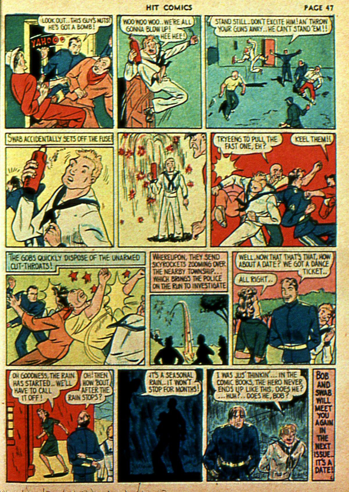 Read online Hit Comics comic -  Issue #2 - 49