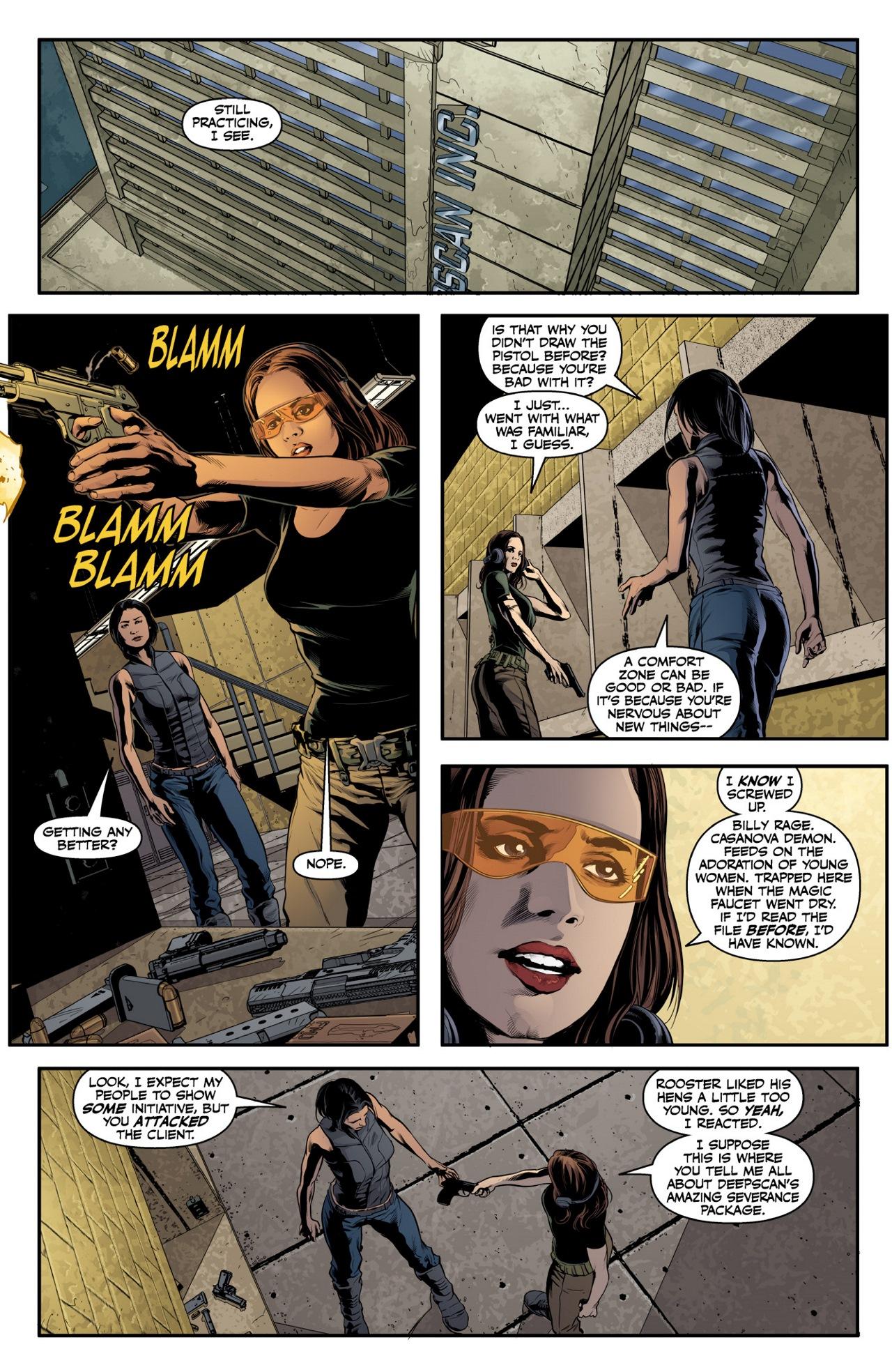 Read online Angel & Faith Season 10 comic -  Issue #3 - 12