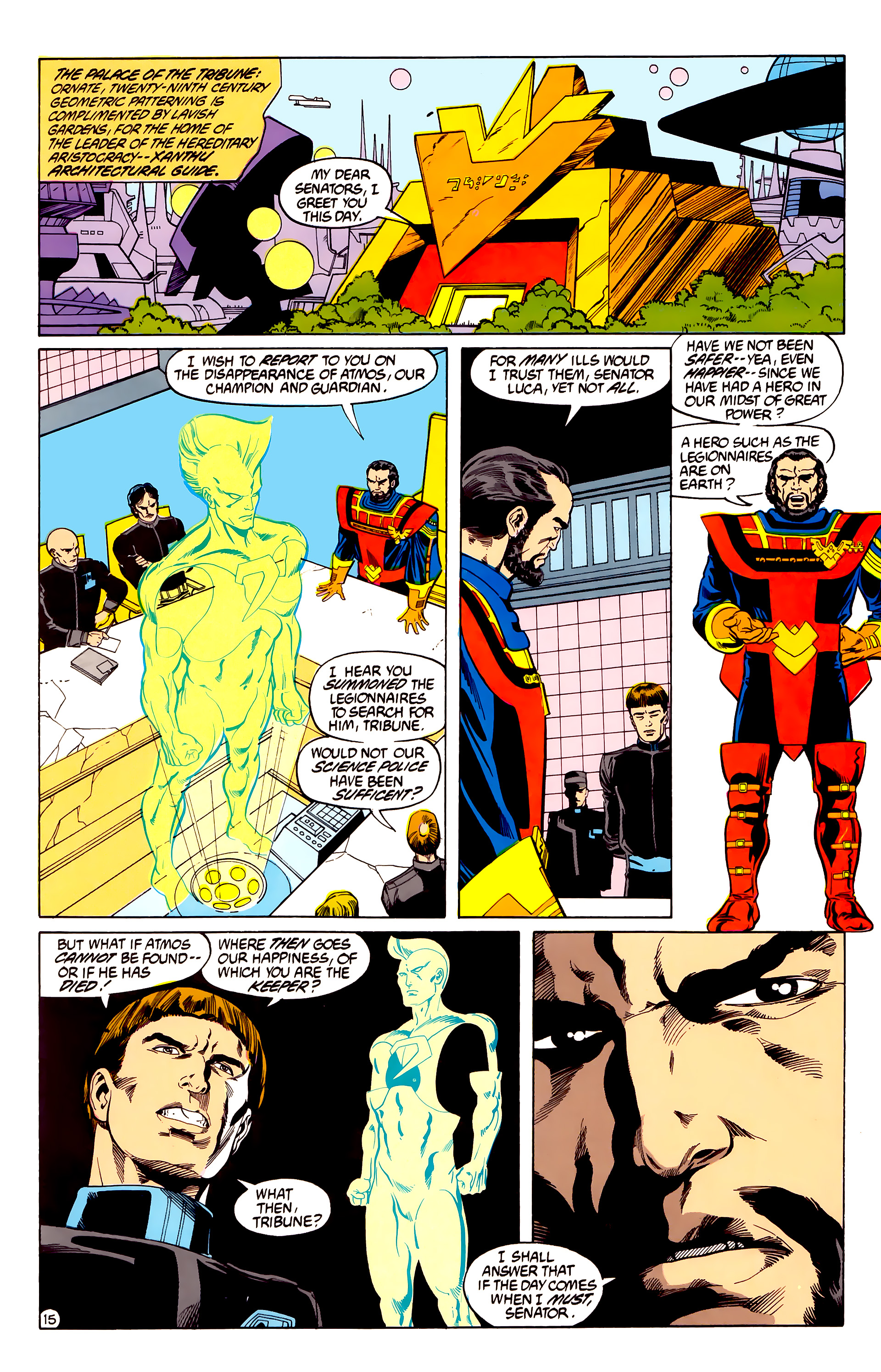 Legion of Super-Heroes (1984) 28 Page 16
