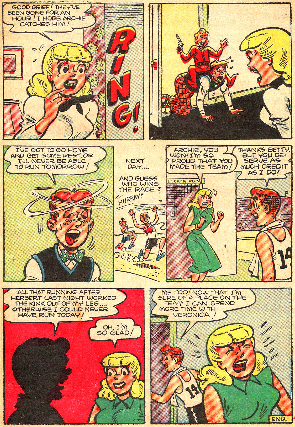 Read online Archie's Girls Betty and Veronica comic -  Issue #Archie's Girls Betty and Veronica Annual 1 - 21