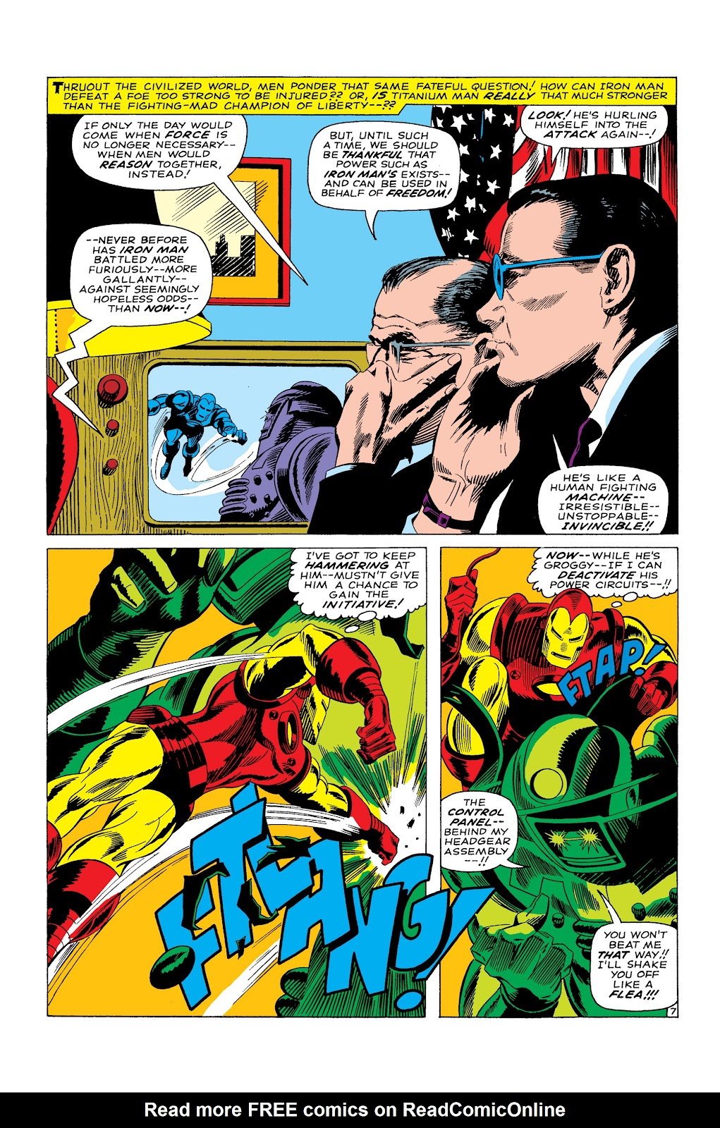 Read online Marvel Masterworks: The Invincible Iron Man comic -  Issue # TPB 3 (Part 5) - 1