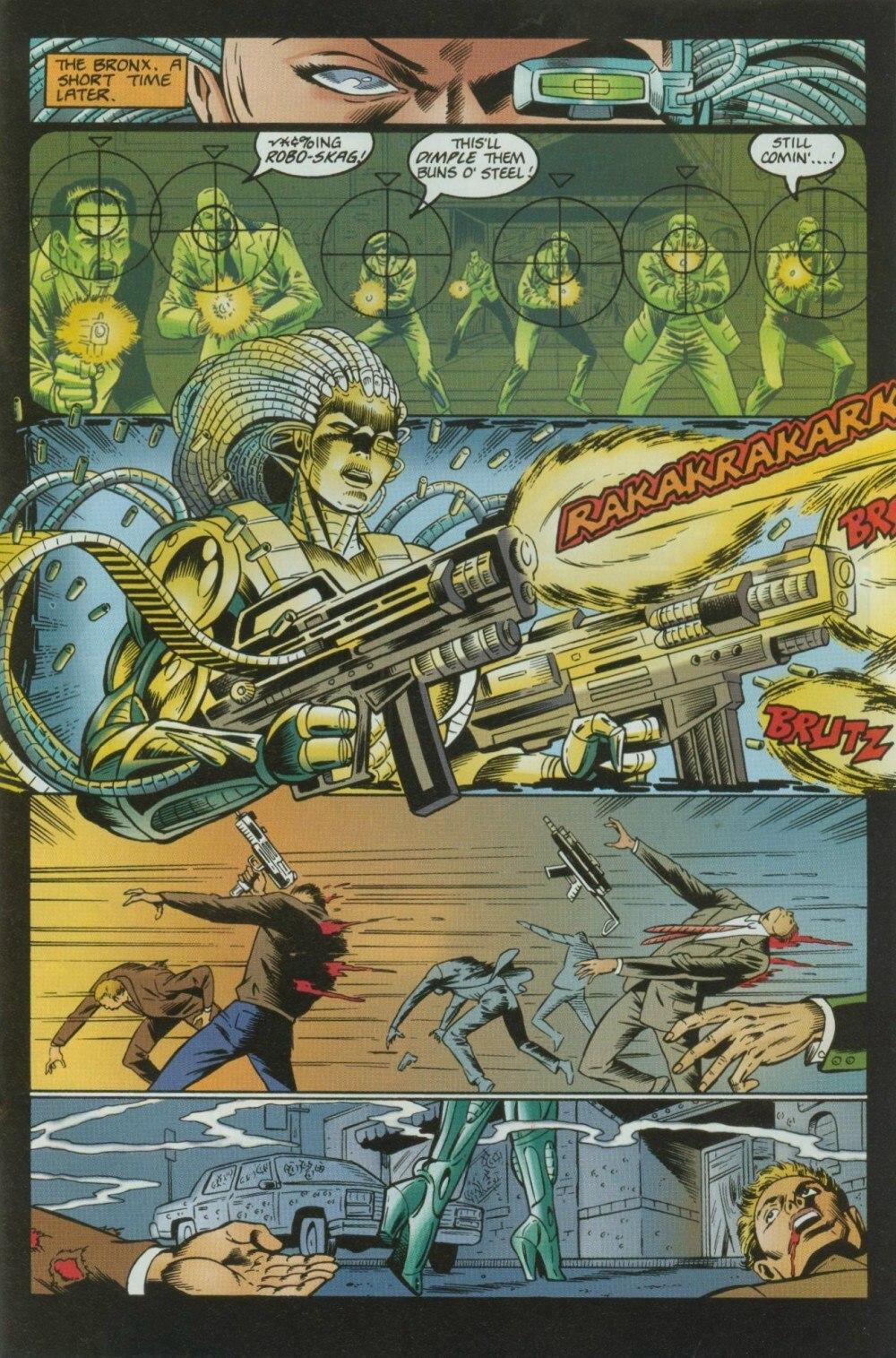 Read online Sludge comic -  Issue #9 - 23