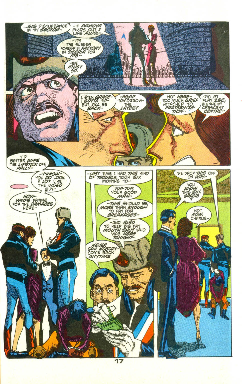 Read online American Flagg! comic -  Issue #23 - 19