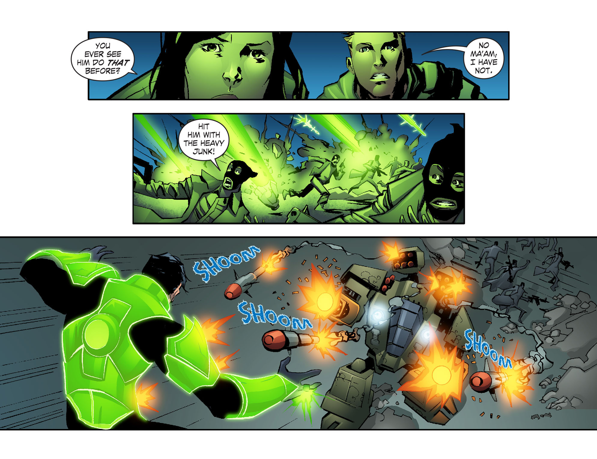 Read online Smallville: Lantern [I] comic -  Issue #2 - 19