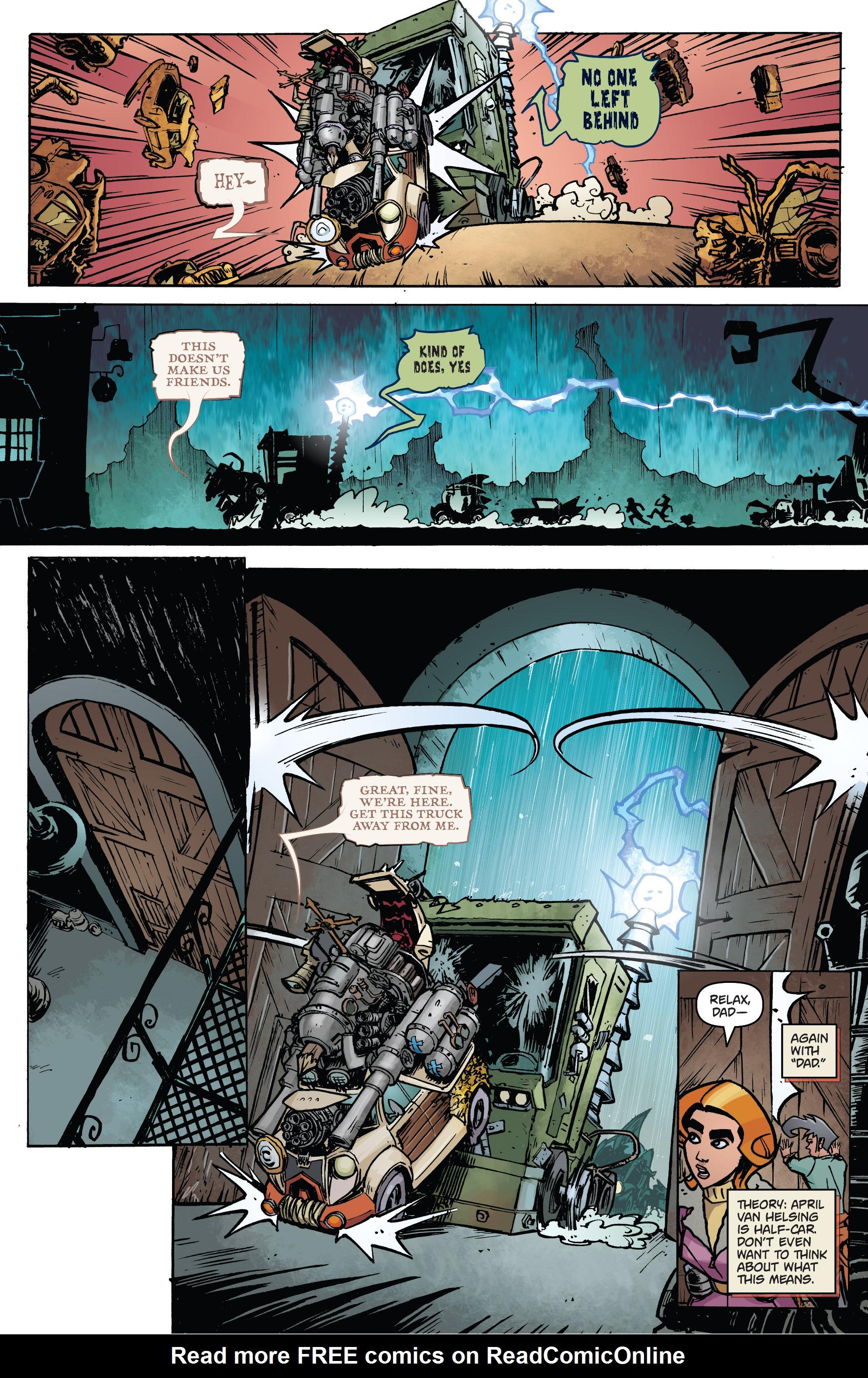 Read online Monster Motors: The Curse of Minivan Helsing comic -  Issue #2 - 5