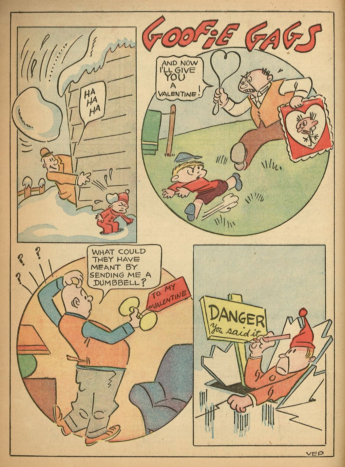 Read online Famous Funnies comic -  Issue #55 - 4