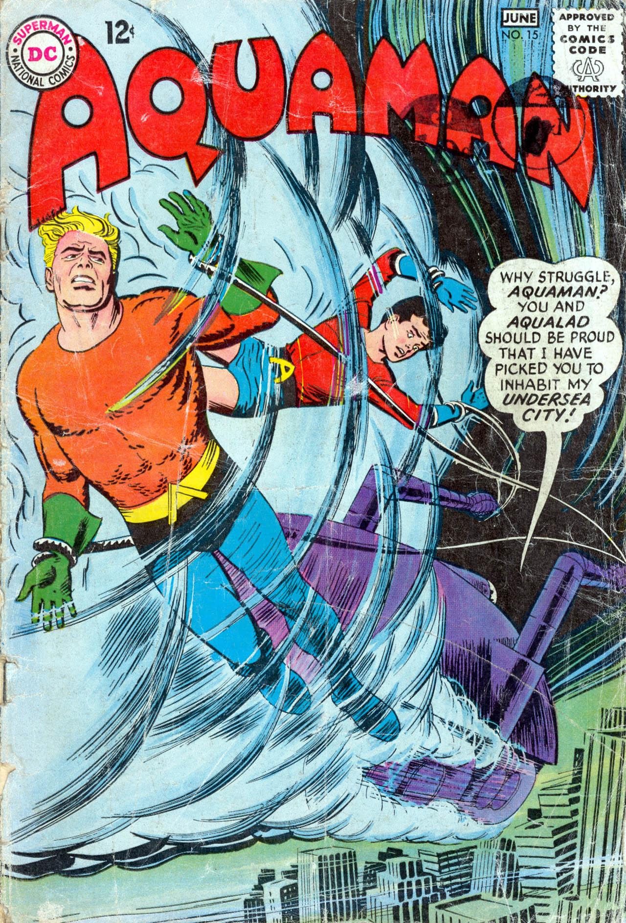 Read online Aquaman (1962) comic -  Issue #15 - 1