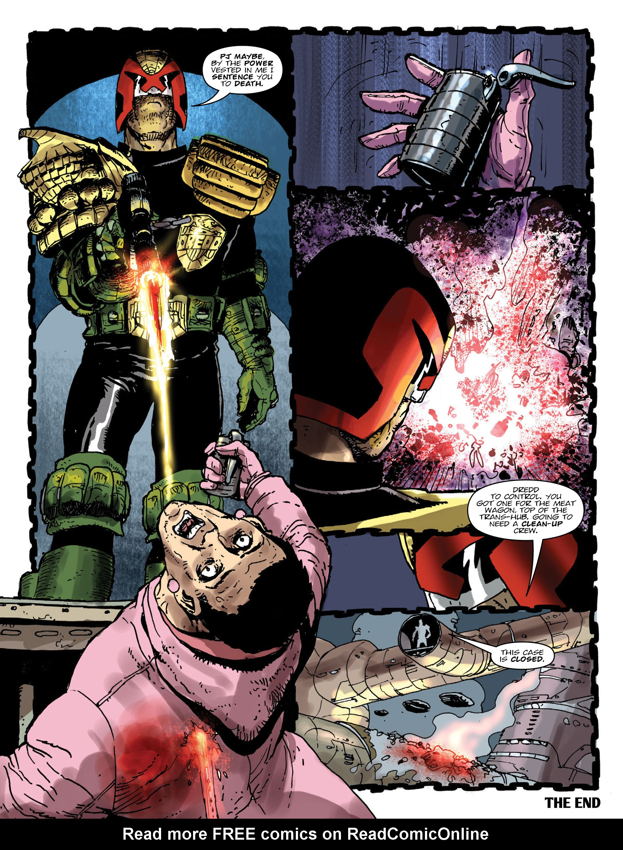Read online 2000 AD comic -  Issue #1998 - 8