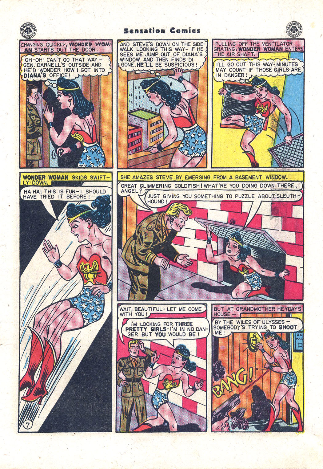 Read online Sensation (Mystery) Comics comic -  Issue #43 - 8