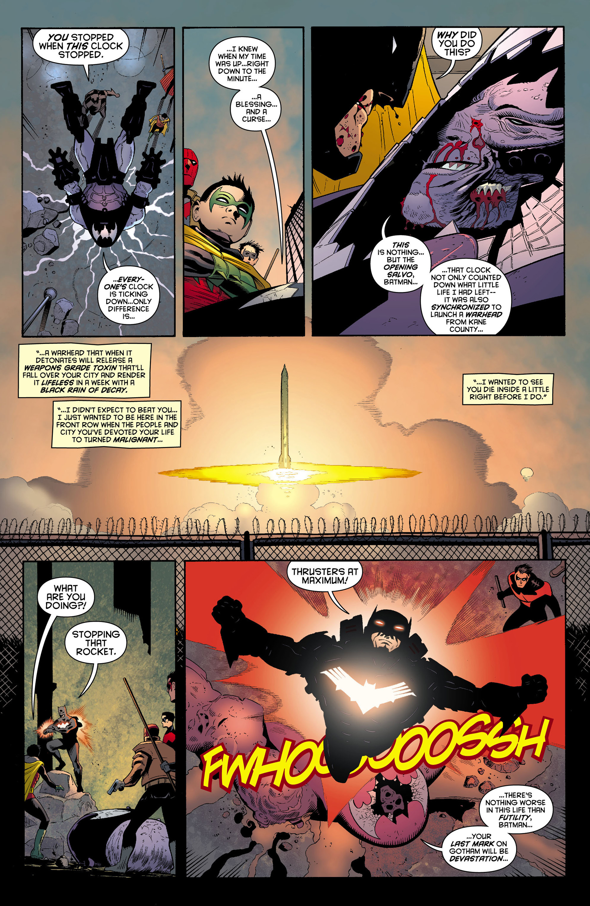 Read online Batman and Robin (2011) comic -  Issue #12 - 13