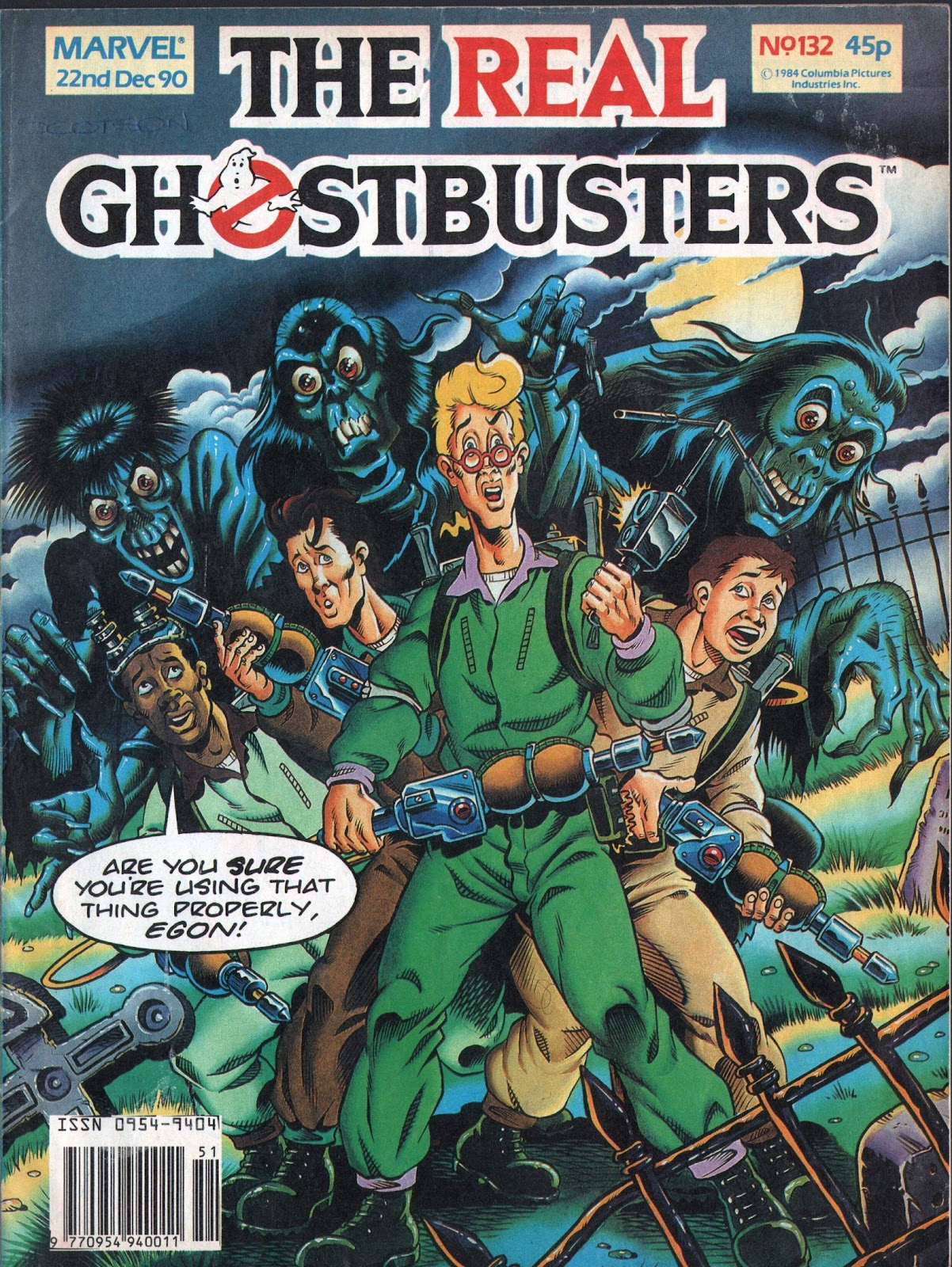 The Real Ghostbusters 132 Page 1