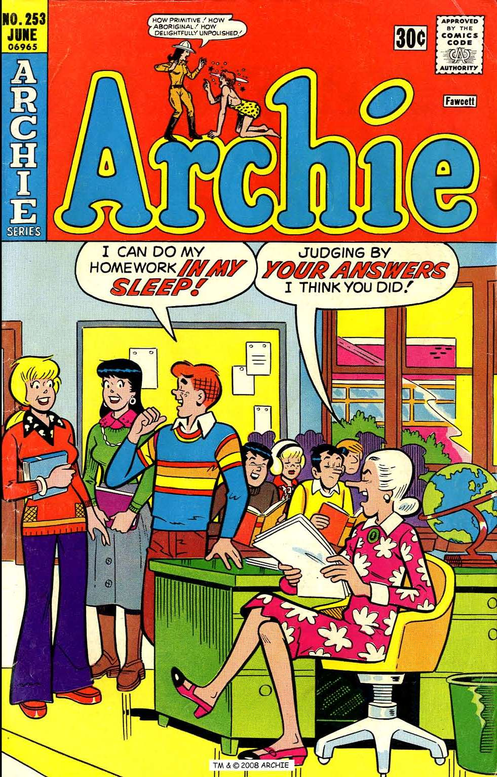 Read online Archie (1960) comic -  Issue #253 - 1