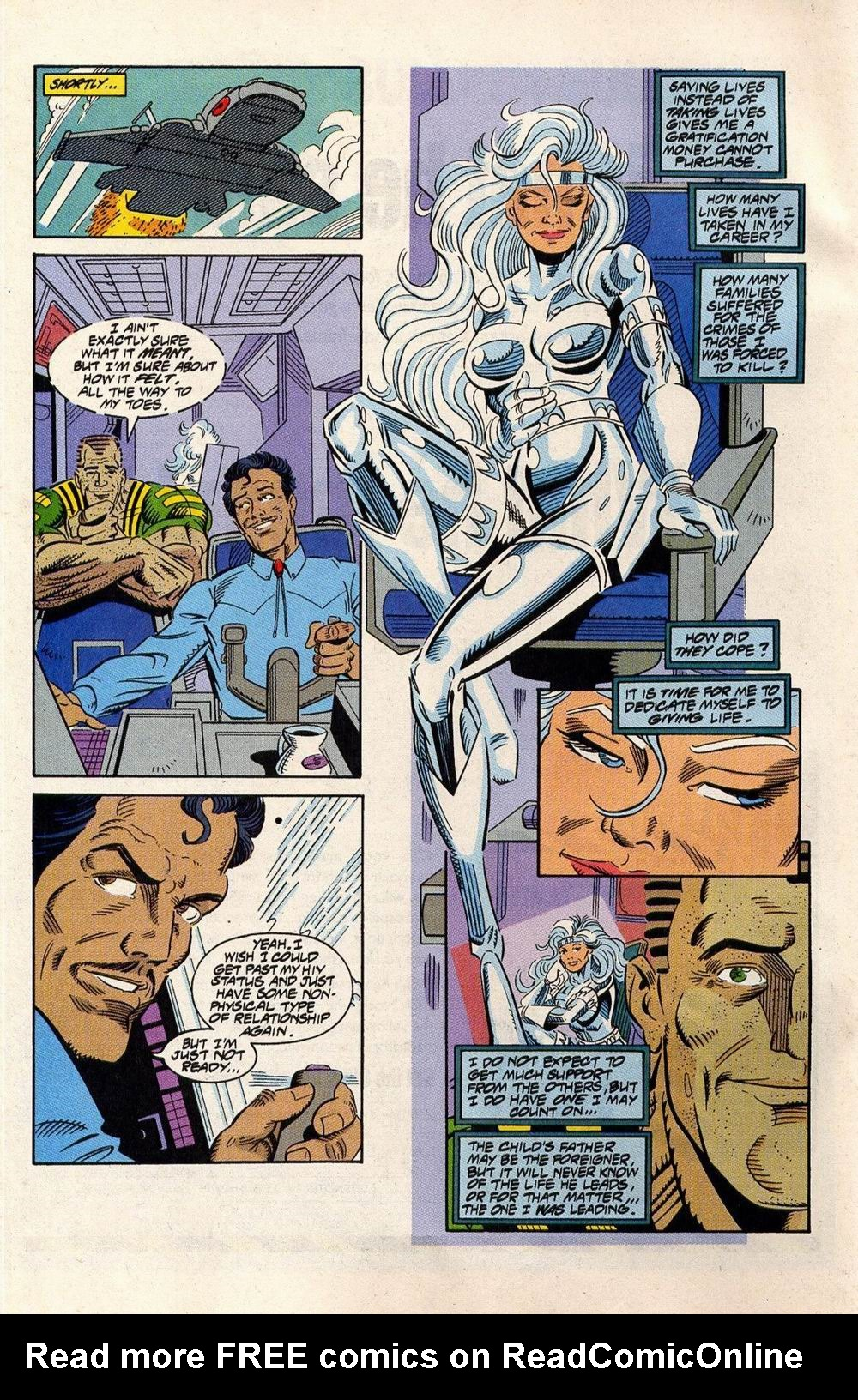 Read online Silver Sable and the Wild Pack comic -  Issue #33 - 19