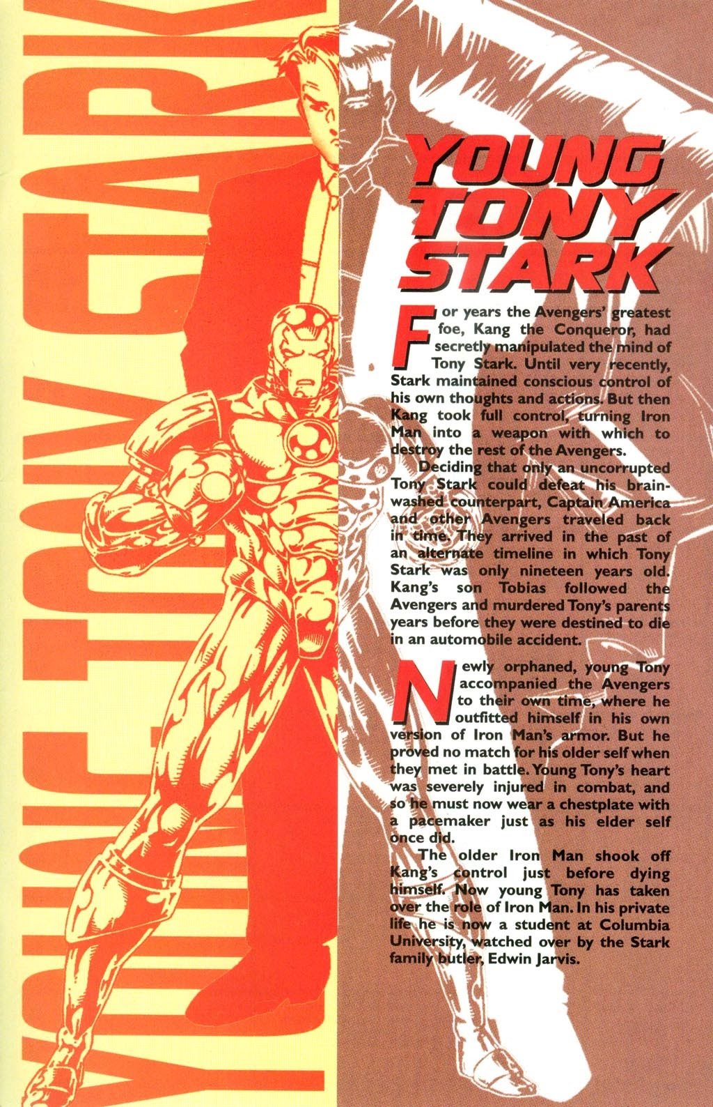 Read online Iron Man: The Legend comic -  Issue # Full - 46