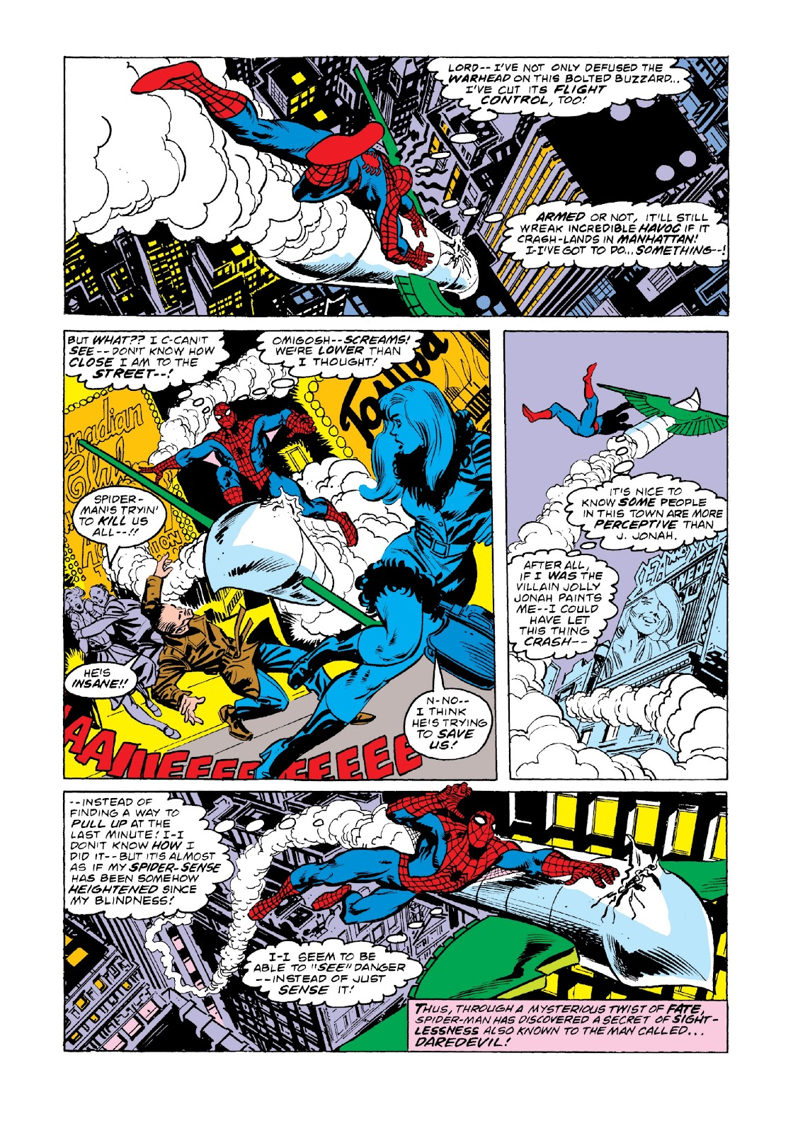 Read online Marvel Masterworks: The Spectacular Spider-Man comic -  Issue # TPB 2 (Part 3) - 34