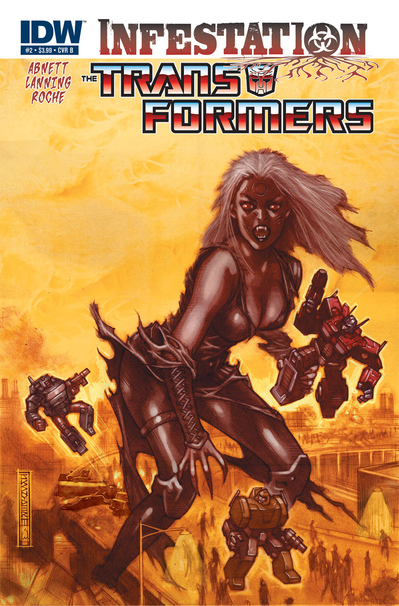 Read online Transformers: Infestation comic -  Issue #2 - 2