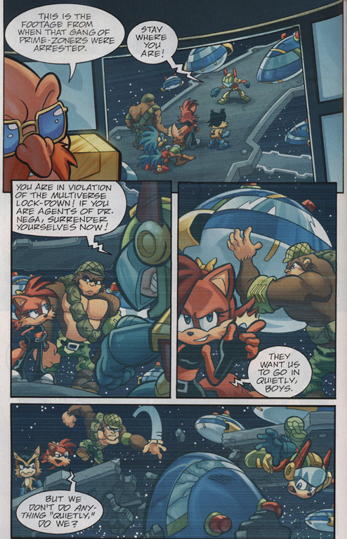 Read online Sonic Universe comic -  Issue #30 - 5