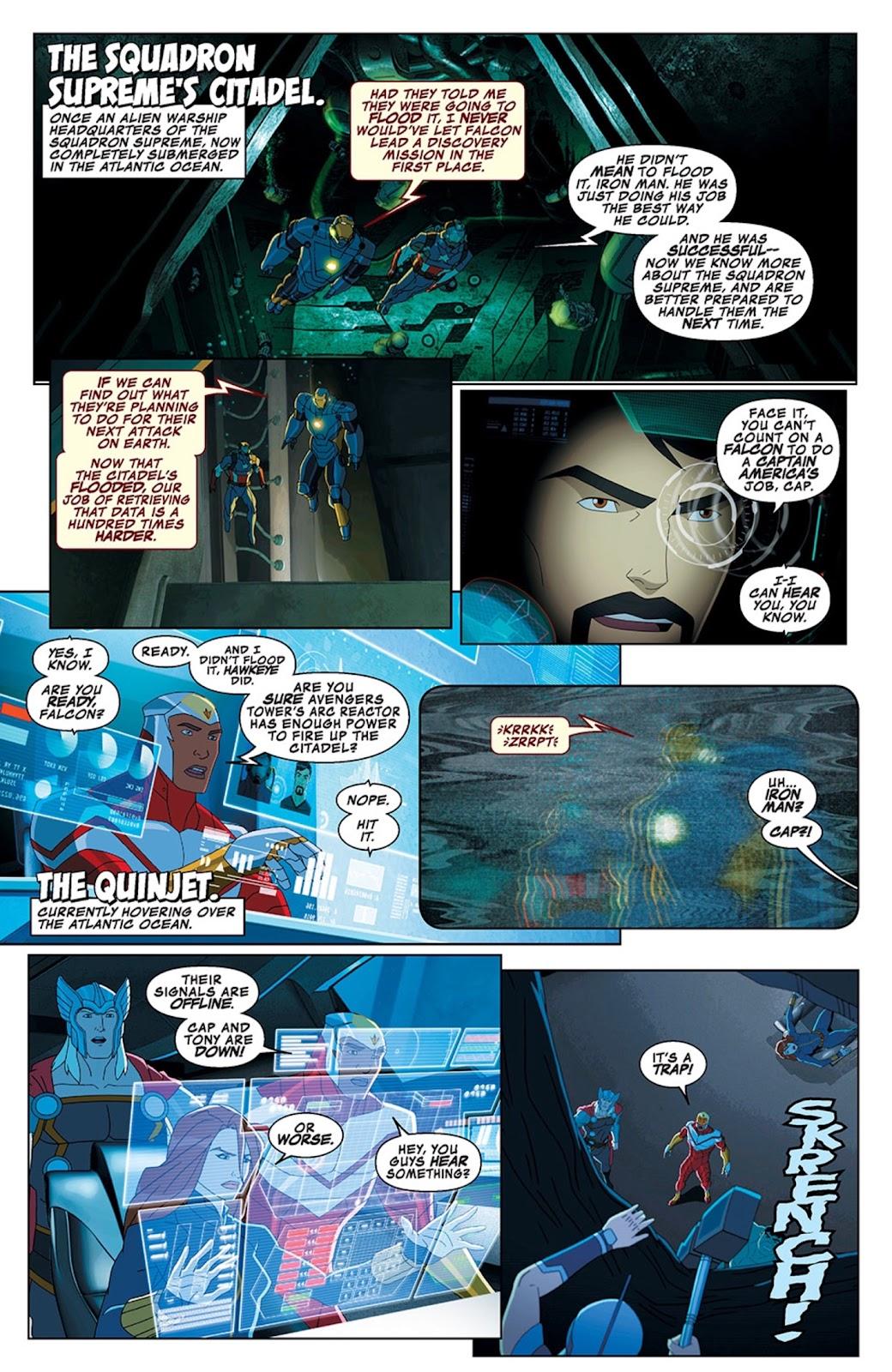 Read online Marvel Universe Avengers Assemble Season 2 comic -  Issue #13 - 4