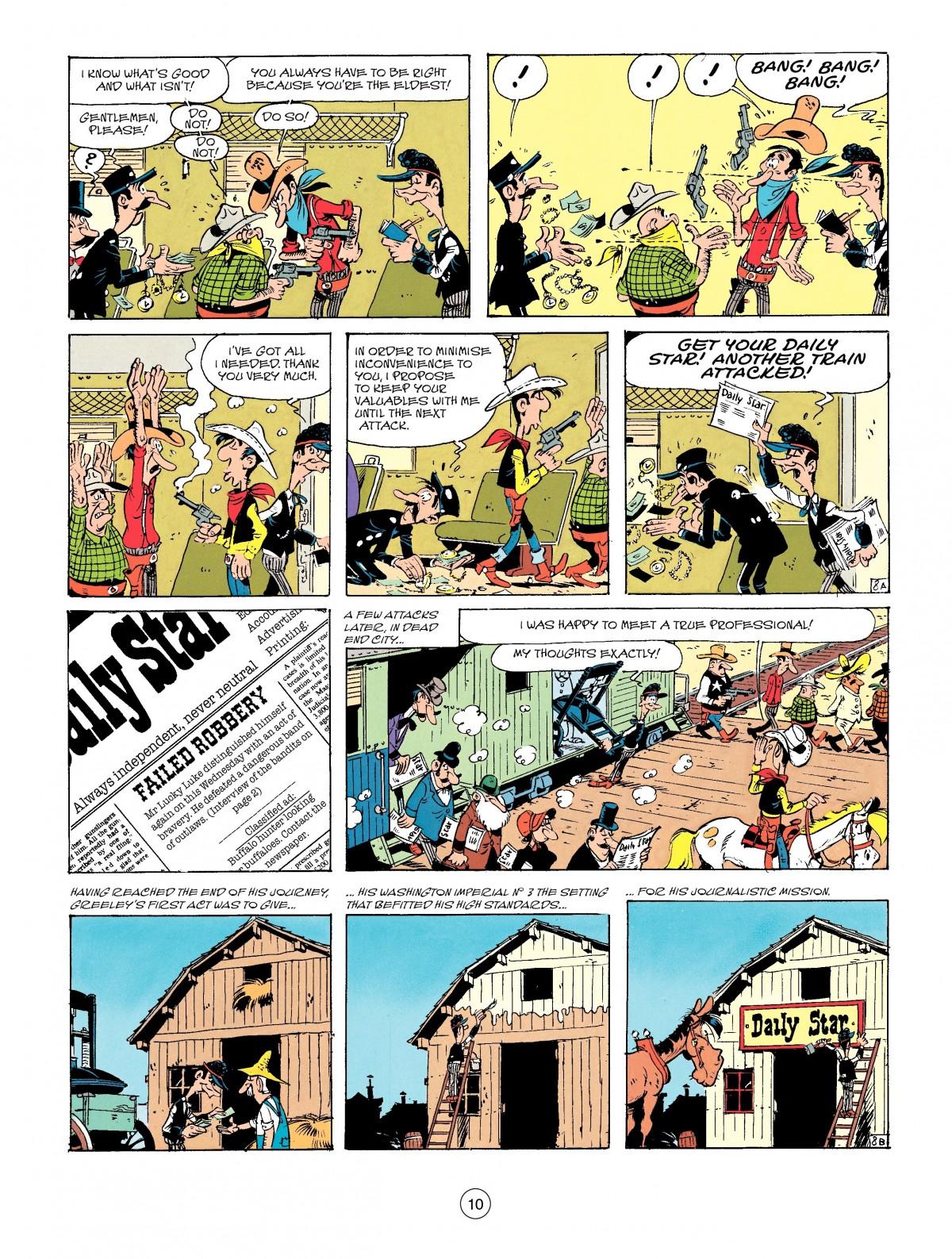 Read online A Lucky Luke Adventure comic -  Issue #41 - 10