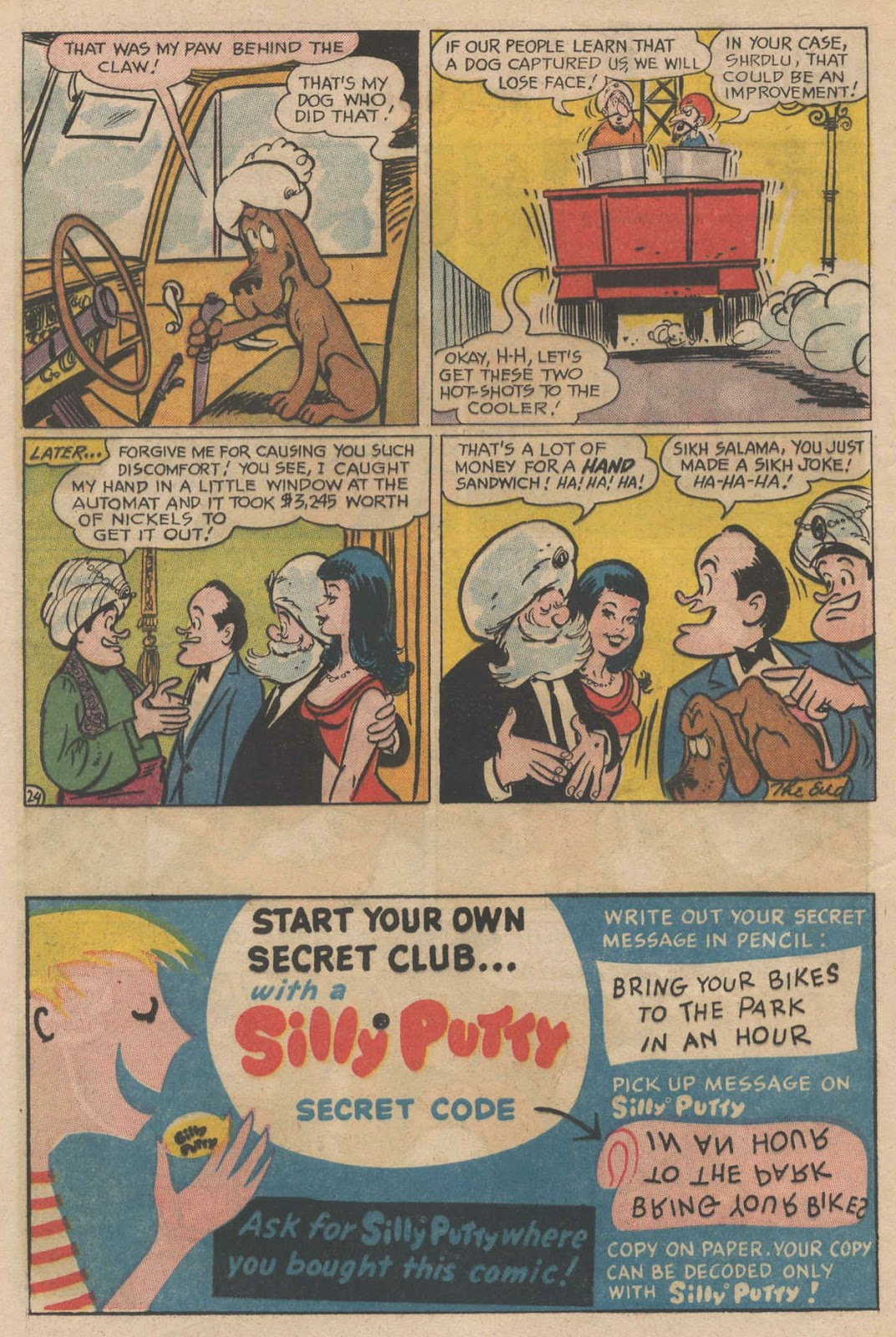 The Adventures of Bob Hope issue 90 - Page 32