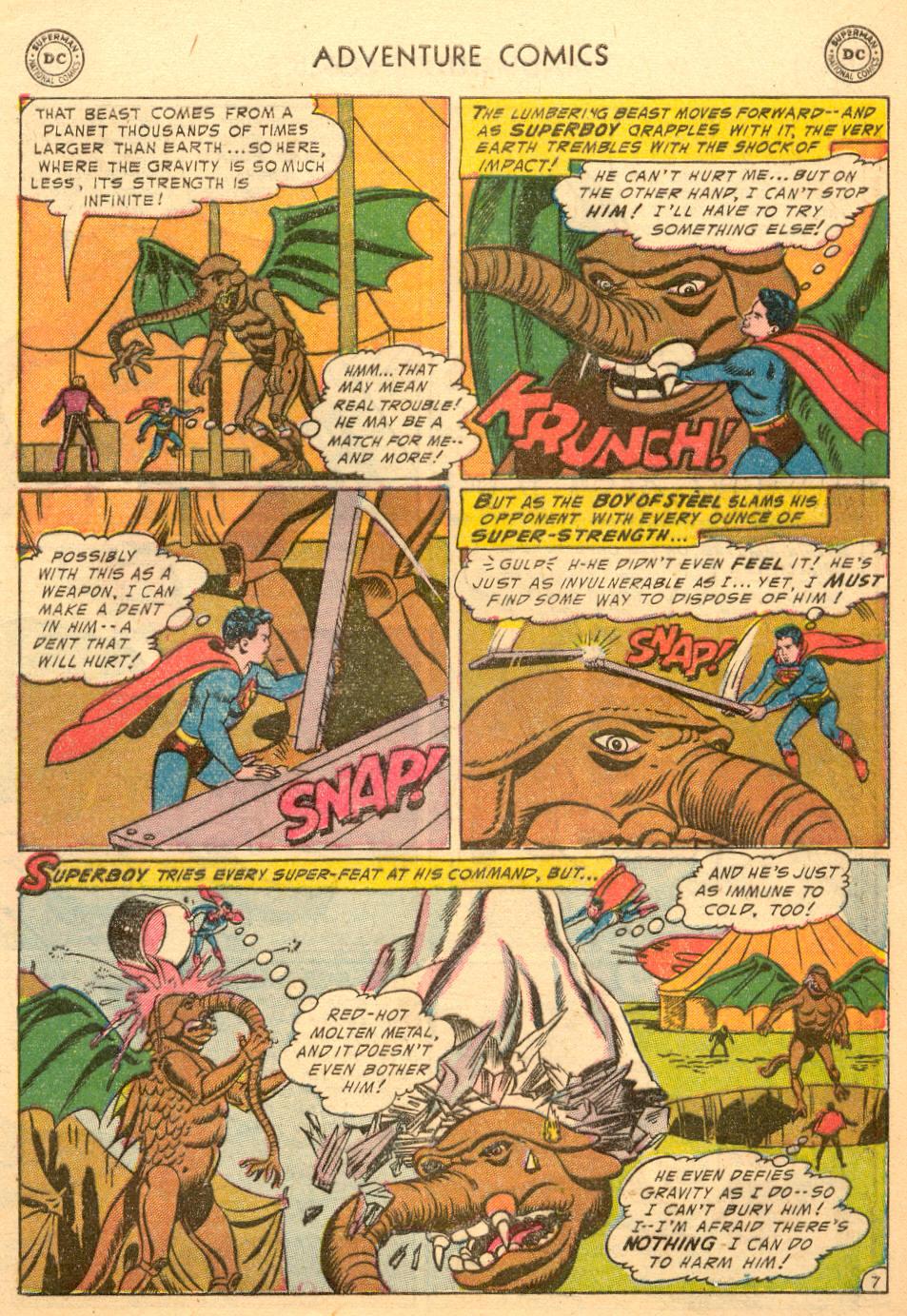 Read online Adventure Comics (1938) comic -  Issue #198 - 9