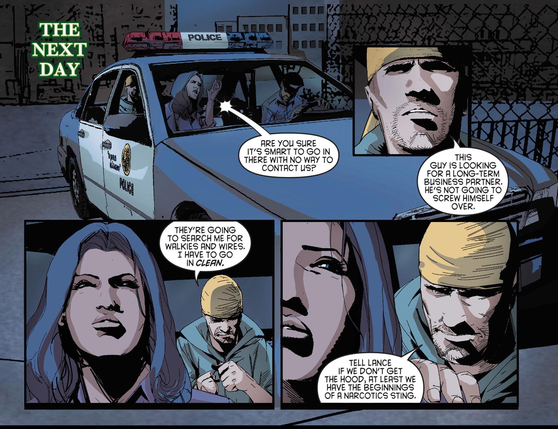 Read online Arrow [II] comic -  Issue #27 - 11
