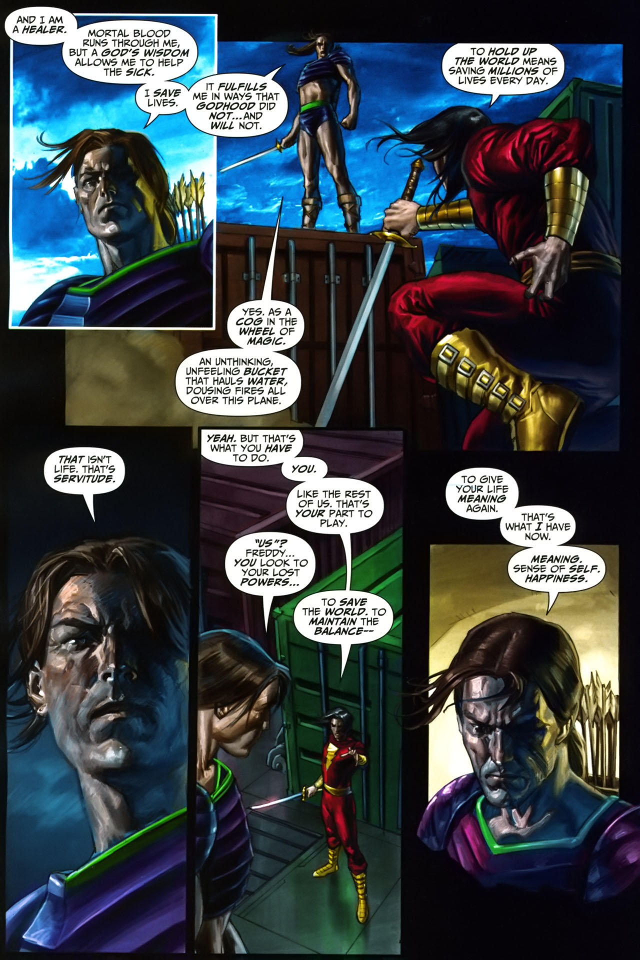 Read online Trials of Shazam comic -  Issue #9 - 11