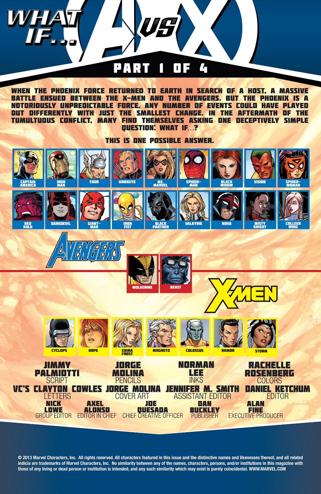 Read online What If? AvX comic -  Issue #1 - 2