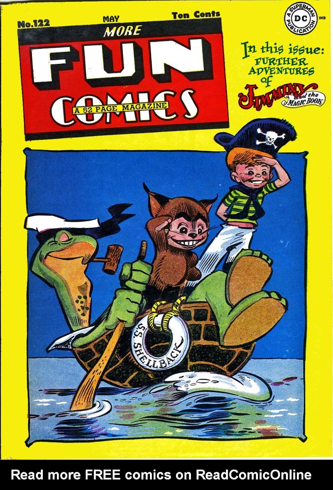 More Fun Comics 122 Page 1