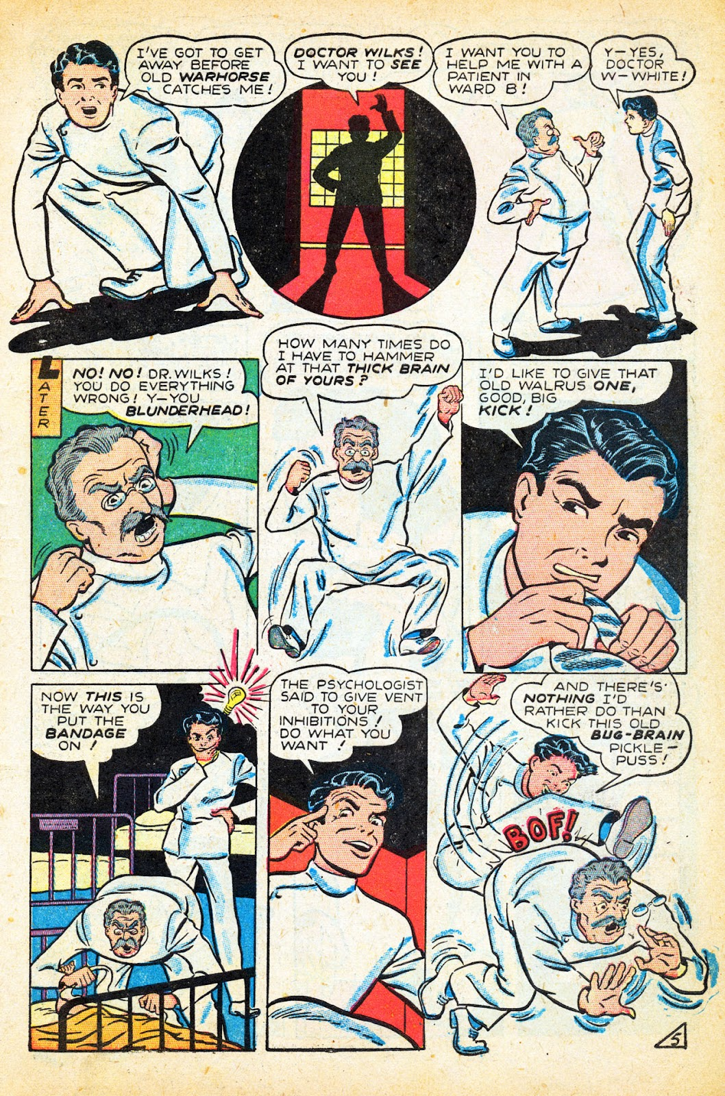 Read online Nellie The Nurse (1945) comic -  Issue #12 - 7