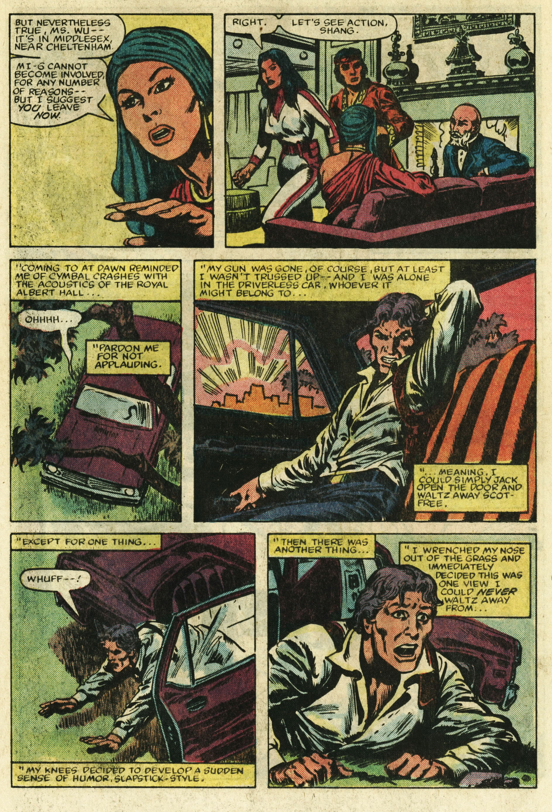 Read online Master of Kung Fu (1974) comic -  Issue #122 - 12
