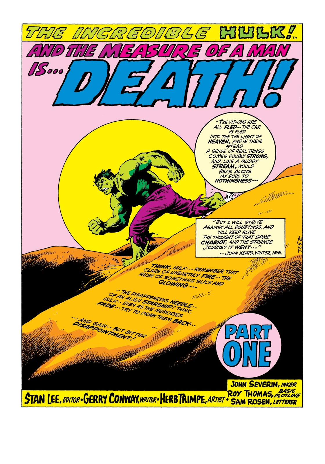 Read online Marvel Masterworks: The Incredible Hulk comic -  Issue # TPB 8 (Part 1) - 42
