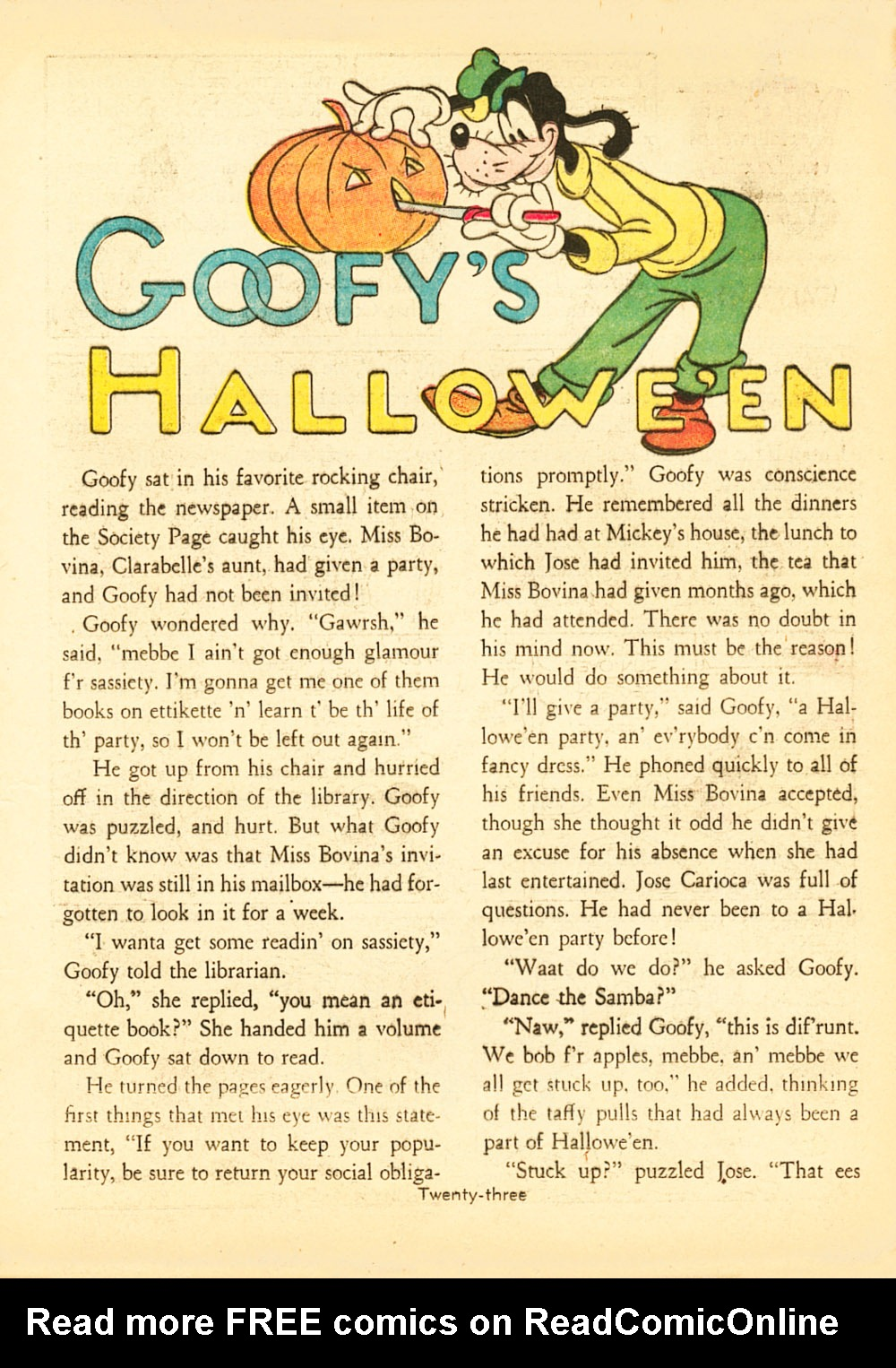 Walt Disney's Comics and Stories issue 38 - Page 25