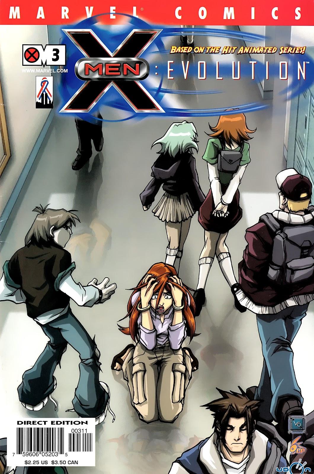 X-Men: Evolution 3 Page 1