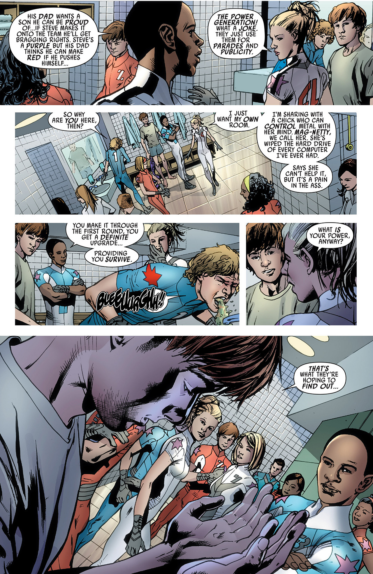 Read online America's Got Powers comic -  Issue #3 - 10