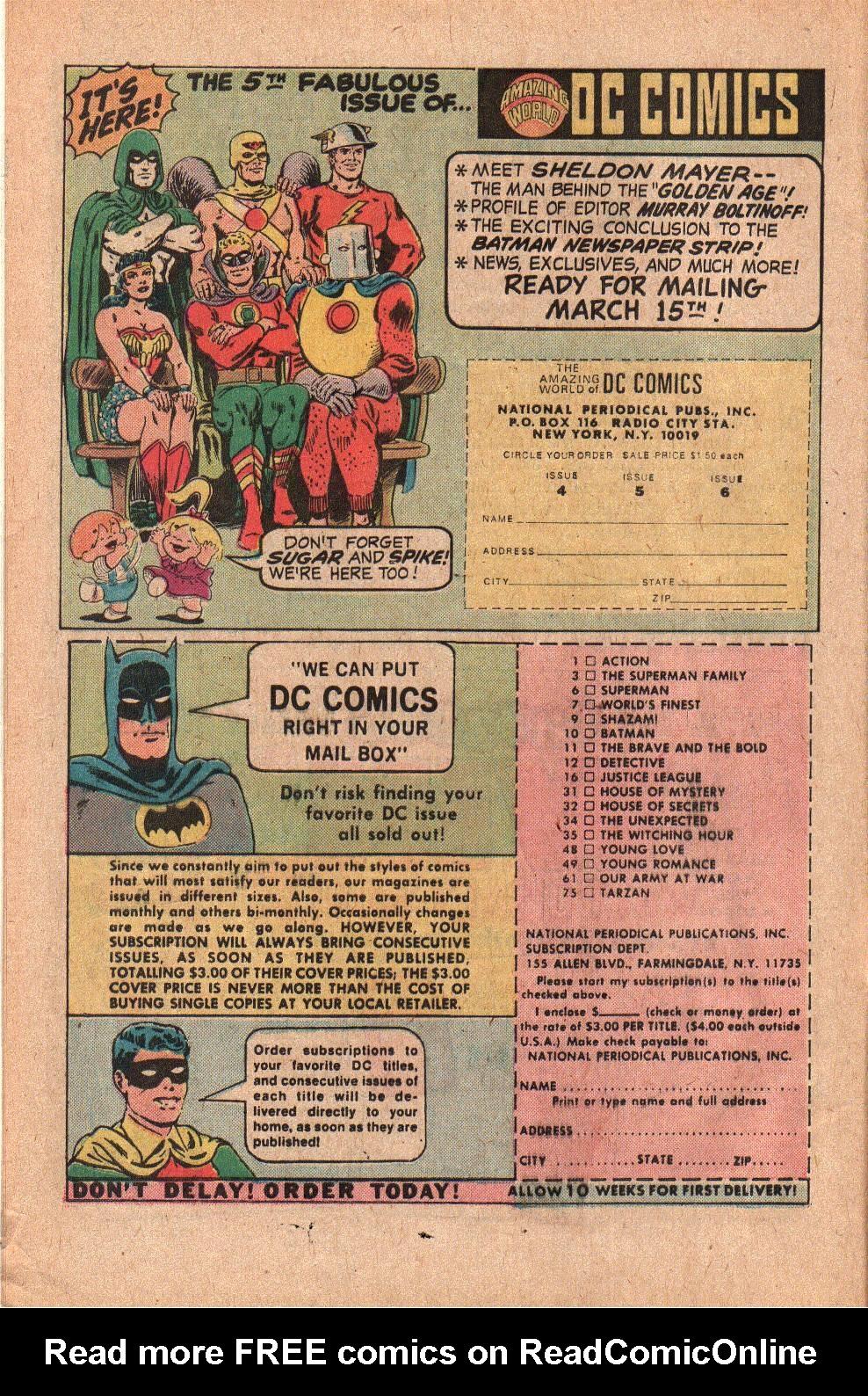 Read online Shazam! (1973) comic -  Issue #19 - 8