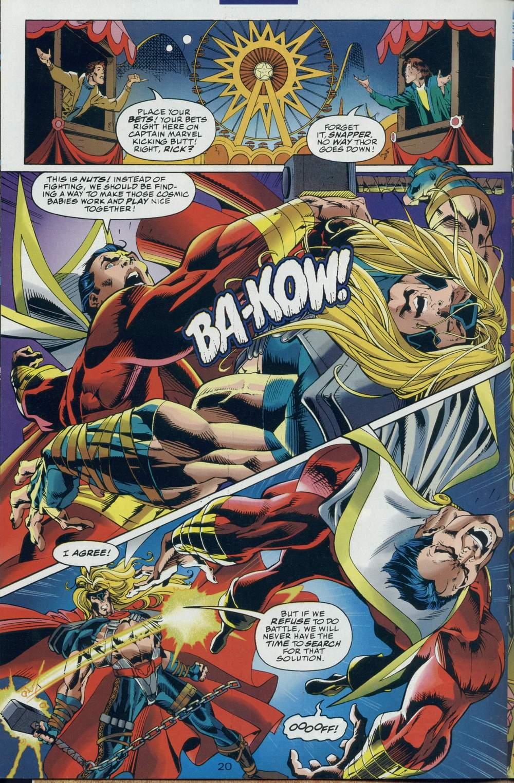 Read online DC Versus Marvel Comics comic -  Issue #2 - 21