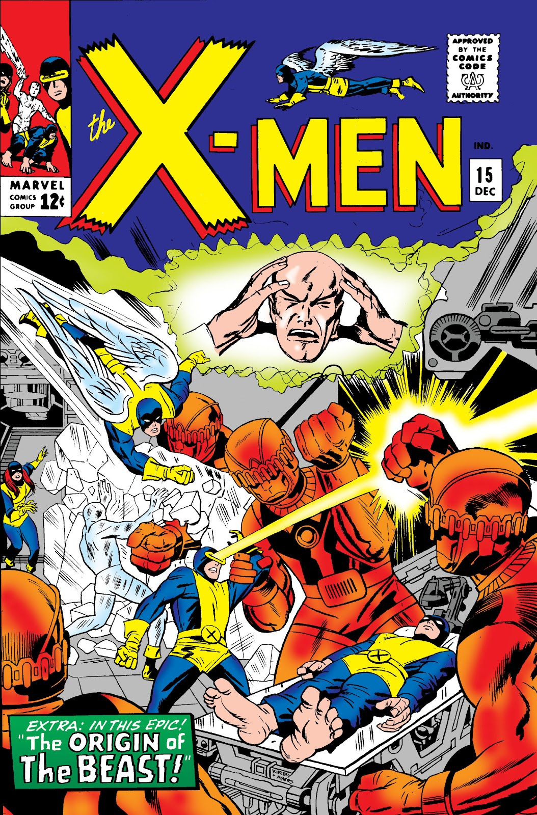 Uncanny X-Men (1963) 15 Page 1