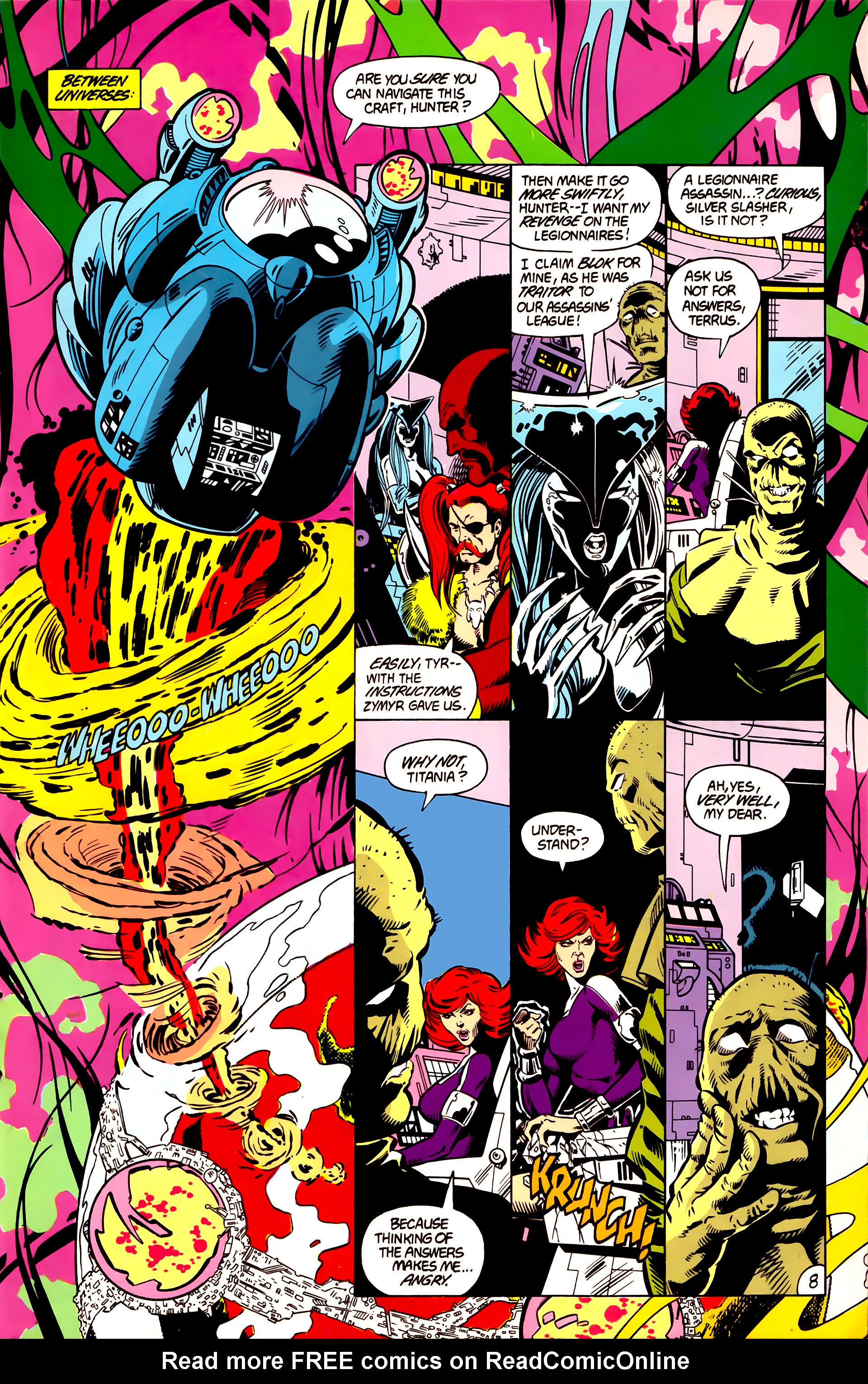 Legion of Super-Heroes (1984) 4 Page 9