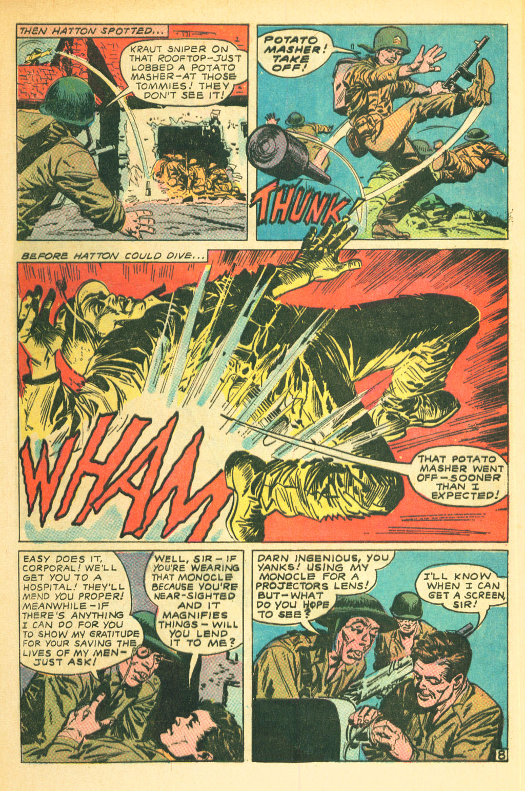 Our Fighting Forces (1954) issue 111 - Page 32
